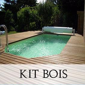 Plein air adam piscines for Kit piscine miroir