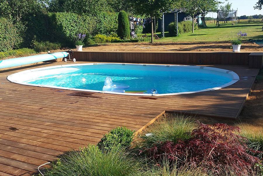 Kit piscine acier adam piscines for Kit piscine miroir